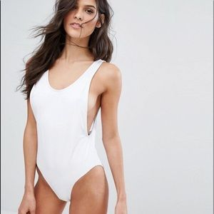 Missguided High Leg One Piece